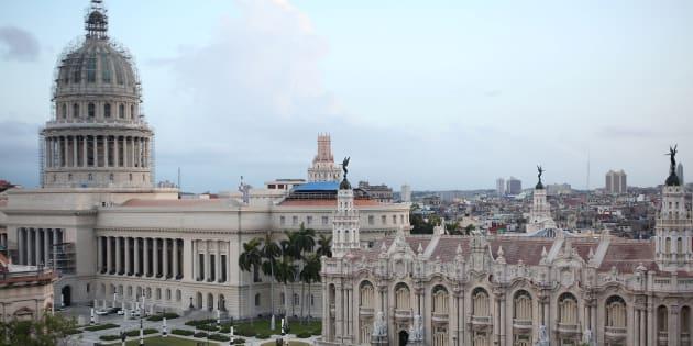 Gran Teatro de la Habana Alicia Alonso en el Paseo del Prado.
