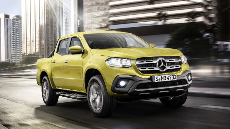 The Mercedes Pickup Truck Is Finally Here, Sort Of