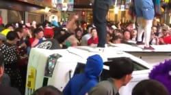 渋谷ハロウィン、今年も暴徒化…軽トラ横転、痴漢、盗撮、大量のごみ