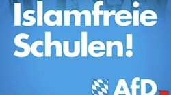 Germany's New Far-Right Campaign Poster Is Unsubtly