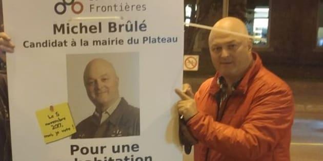 Michel Brûlé se retire de la course à la mairie du Plateau