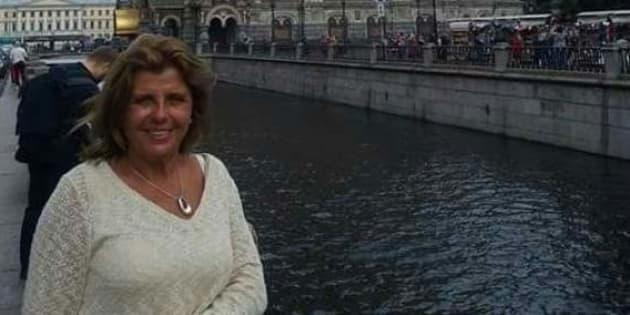 La turista española, en una imagen difundida por los medios.