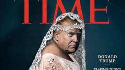 Los tuiteros le proponen a Trump portadas aún más