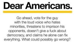 EXCLUSIF - Le message de cet Allemand aux électeurs américains a pris des proportions monstres, il