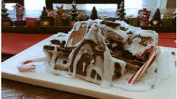 Faire une maison en pain d'épices pour Noël, une mission