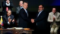 Así se vivió la firma del nuevo acuerdo de paz en Colombia en redes