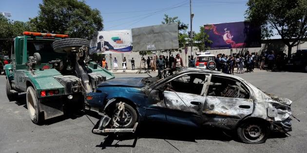 Nombreuses victimes — Explosions à Kaboul