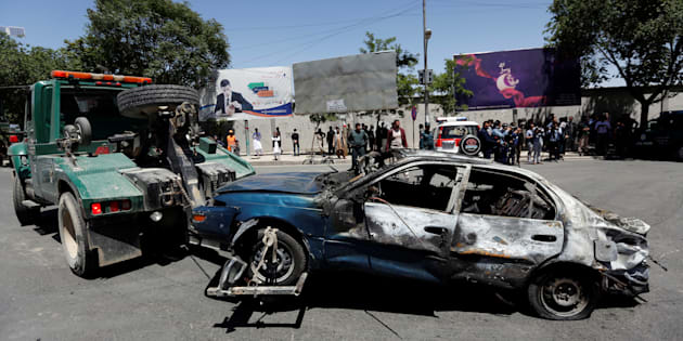 L'ambassade d'Iran a subi des dégâts matériels — Attentat à Kaboul