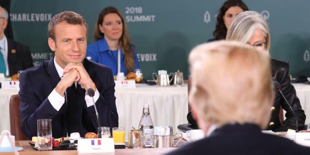 """G7: La France dénonce les """"colères"""" et """"petits mots"""" de Donald Trump après sa volte-face au Canada"""