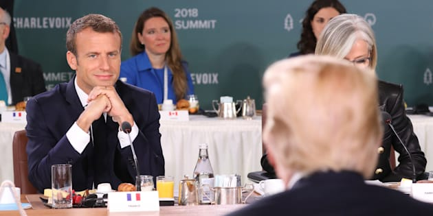 Quand Macron utilise contre Trump ses propres techniques de négociations.