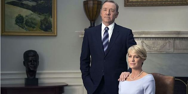 "Kevin Spacey et Robin Wright dans la saison 3 d'""House of cards"""