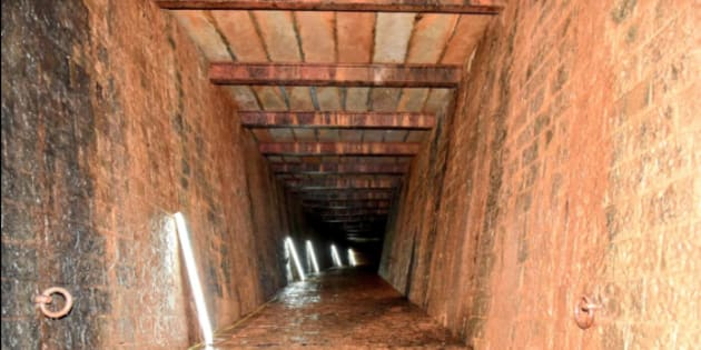 British era bunker found below Raj Bhavan in Maharashtra.