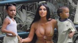 Kim Kardashian accusata di aver photoshoppato il corpo della figlia di 5 anni: