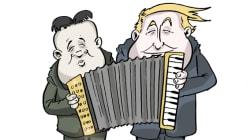 BLOG - Donald Trump et Kim Jong Un jouent-ils vraiment la même