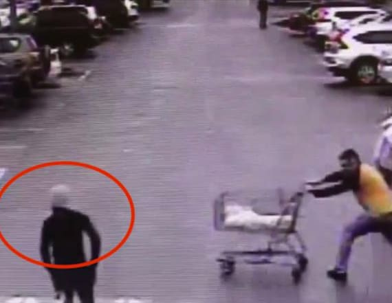 Police release security footage of shopper