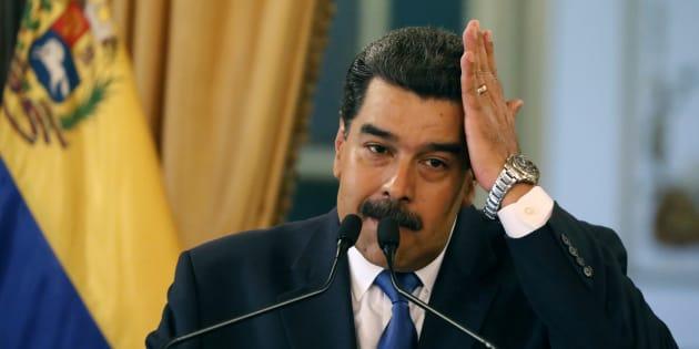 Au Venezuela, un nouveau responsable militaire lâche Maduro (phot d'illustration de Nicolas Maduro).