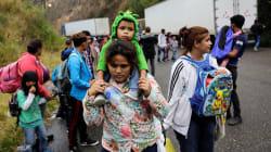 Cuarta caravana de migrantes sale de Honduras hacia