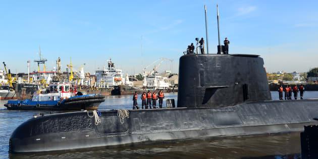 El submarino argentino ARA San Juan en el puerto de Buenos Aires, Argentina. Argentine Navy/Handout via REUTERS