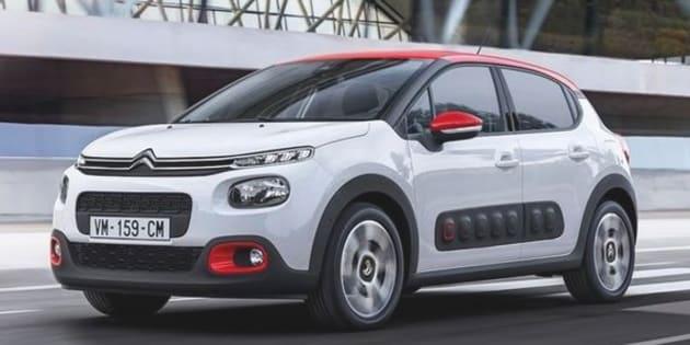 La nouvelle Citroën C3 2016.