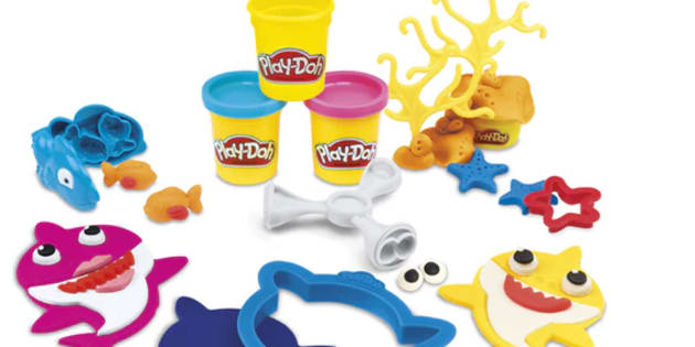 Hasbro has announced it's releasing a Baby Shark Play-Doh set.