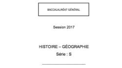 Les corrigés du bac d'histoire-géo des séries S, ES, L, ST2S et