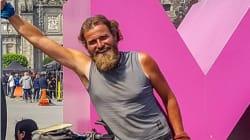 Ciclista alemán recorría México y desaparece en el estado de