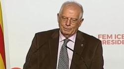 El recadito de Borrell a Iceta en pleno mitin del