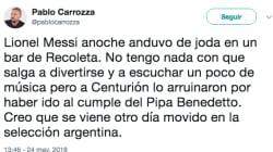 Las respuestas a este tuit sobre Messi son toda una lección sobre cómo insultar con