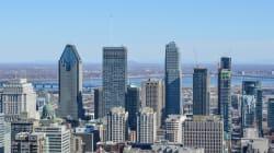Si Montréal recevait la même quantité d'eau que Houston d'un seul coup, ça ressemblerait à