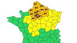 18 départements dont Paris en vigilance orange pour neige et