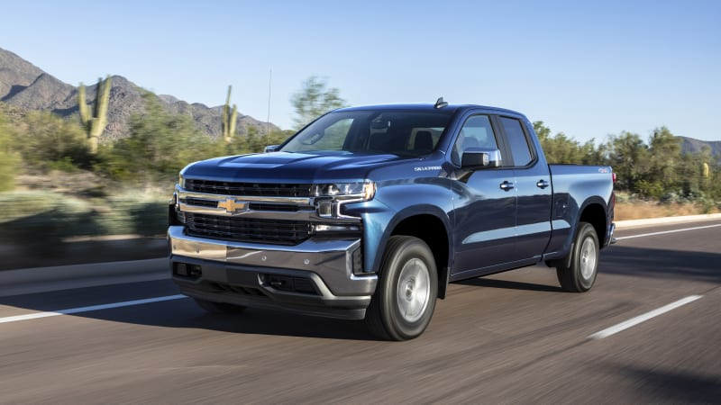 2019 Chevy Silverado 2.7L Four-Cylinder First Drive Review