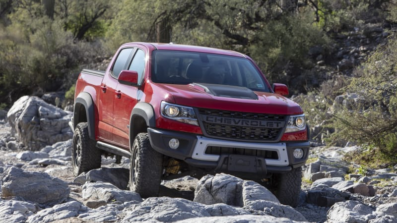 2019 Chevy Colorado ZR2 Bison First Drive Review