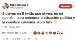 El corte de la RAE a Pablo Iglesias en pleno hilo sobre