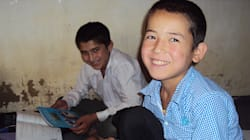 アフガニスタン:「地雷ではなく花」を届けられるように