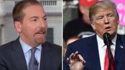 Trump Calls NBC's Chuck Todd A 'Sleeping Son Of A Bitch' At