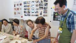 熊本地震:仮設住宅で「お茶っこ会」を開催