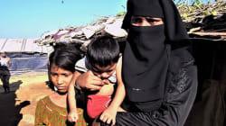 ミャンマー避難民キャンプの女性たち