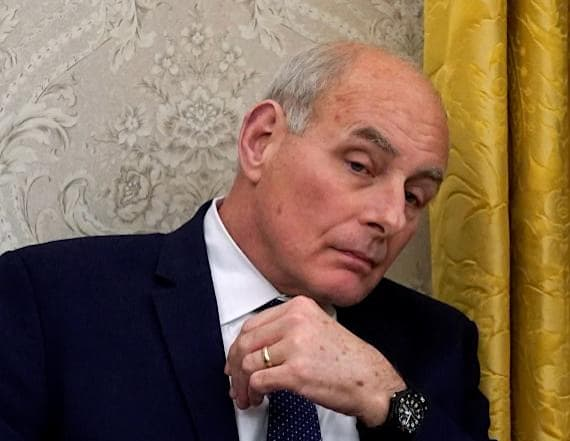 Trump waffles on pledge to keep chief of staff Kelly