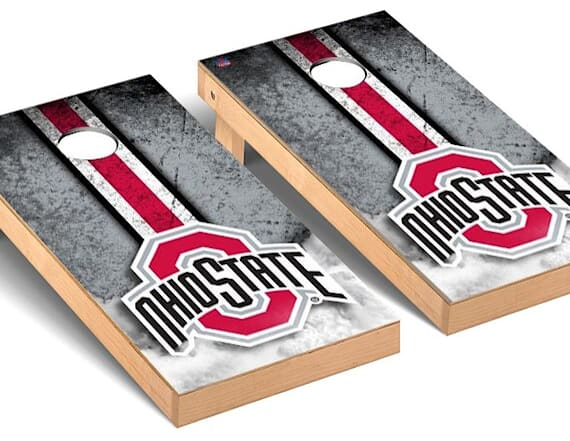 Grab these NCAA team-branded tailgate games