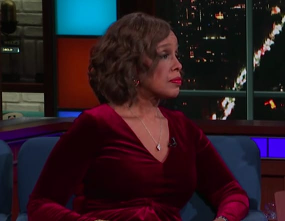 Gayle King talks to Colbert about Charlie Rose