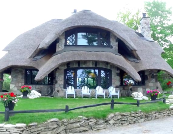 Travelers can stay in enchanting Mushroom House