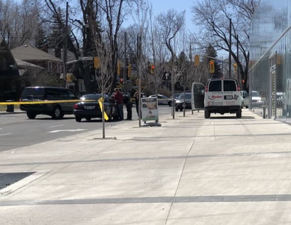 Van hits multiple pedestrians in Toronto: police