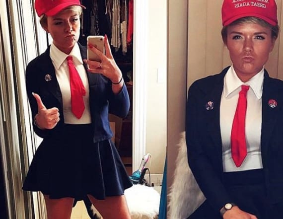 US President Trump: The Halloween costume of 2017