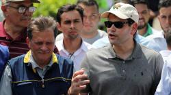 Senador republicano Marco Rubio visita frontera Colombia-Venezuela para supervisar ayuda