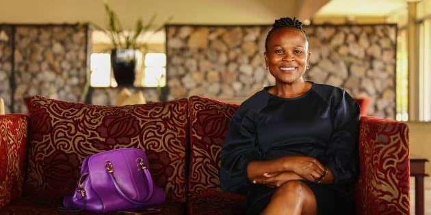 Public Protector Advocate Busisiwe Mkhwebane.