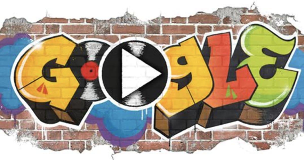 El Doodle de Google celebra el nacimiento del 'hip hop'