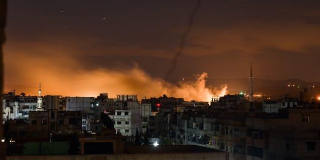 Una via di fuga dalla Siria in fiamme
