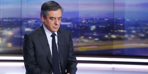 François Fillon lors de ses premières explications sur le Penelope Gate.