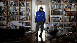 À Amona, l'évacuation d'une petite colonie de Cisjordanie à tourné au