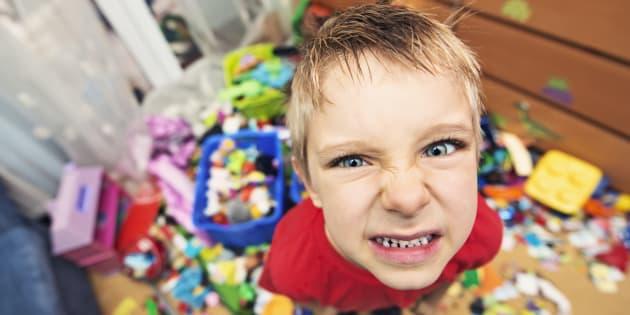 Quatre choses à changer pour éviter que votre enfant ne prenne les commandes de votre vie de famille. Illustration.